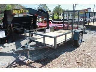 Utility Trailer with Charcoal Gray Finish