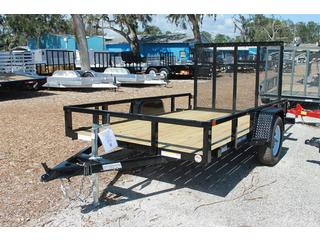 Utility Trailer with Rear Ramp Gate