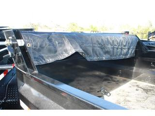 Dump Trailer with Adjustable Coupler