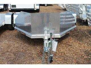 Motorcycle Trailer with Recessed D-Rings