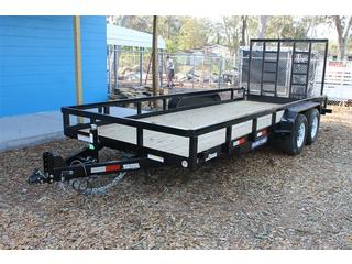 Utility Trailer with Contractors Gate
