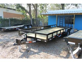 Utility Trailer with Adjustable Coupler