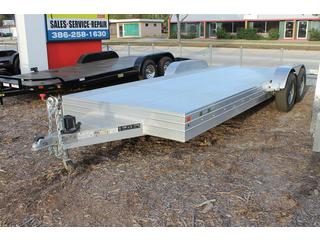 Car Hauler with Slide In Ramps