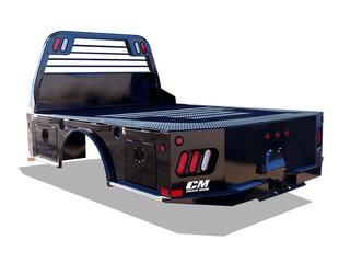 Truck Bed with Super Duty Headache Rack