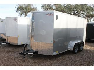 Cargo Trailer with Keyed Side Entry
