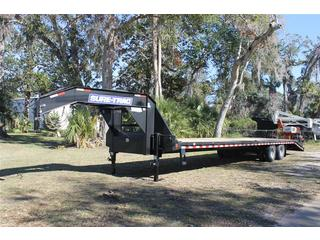 Gooseneck Trailer with Flip Over Ramps
