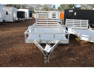 Utility Trailer with Removable Rear Ramp