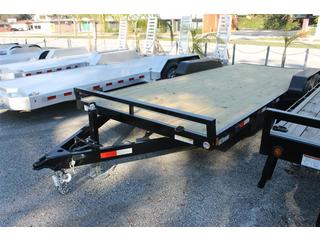 Car Hauler with Set Back Jack
