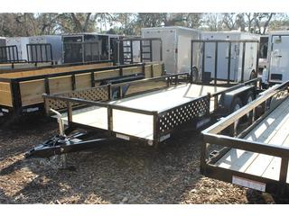 Utility Trailer with Tub Top Sides