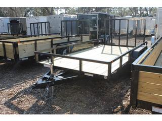 Utility Trailer with Spring Assisted Ramp