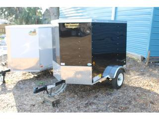 Cargo Trailer with Dome Light