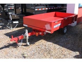 Dump Trailer with Detachable Tongue