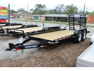 Equipment Trailer with Rear Ramp