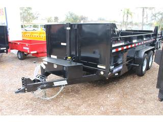 Dump Trailer with Wireless Remote
