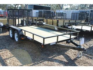 Landscape Trailer with Brakes