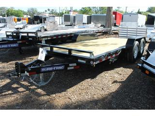 Equipment Trailer with Tilt Bed