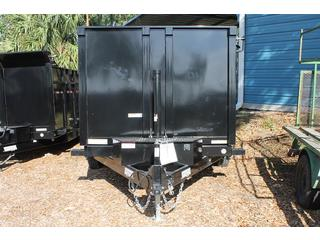 Dump Trailer with 4 ft Sides