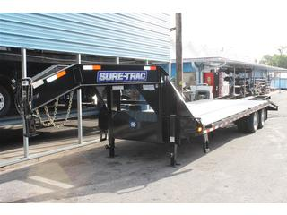 Equipment Trailer with Gooseneck