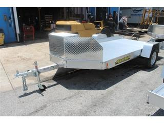 Construction Trailer with Storage Box