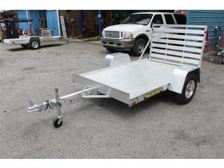 Utility Trailer with Tie Down Loops