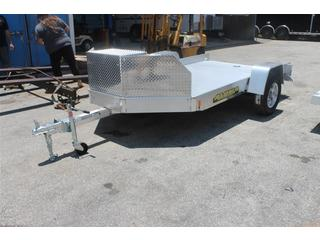 Utility Trailer with Swivel D-Rings