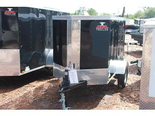 Cargo Trailer with Double Rear Doors