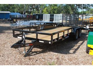 Utility Trailer with LED Lighting