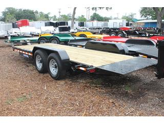Equipment Trailer with Wooden Deck