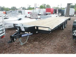 Equipment Trailer with Flat Deck