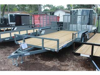 ATV Trailer with Fold Flat Ramp