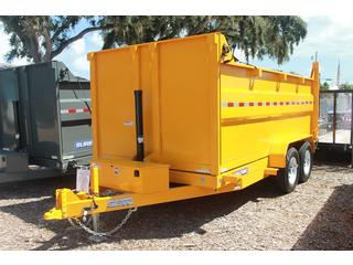 Dump Trailer with High Sides