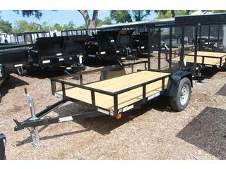 Utility Trailer with Treated Deck