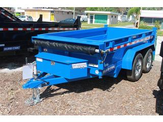 Dump Trailer with LED Lighting