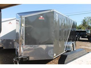 Motorcycle Trailer with Keyed Side Door
