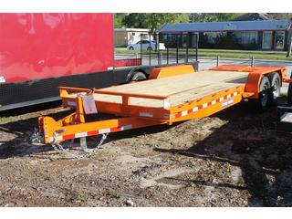 Equipment Trailer with Full Width Ramps