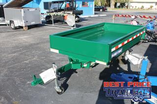 Dump Trailer with Remote Holster