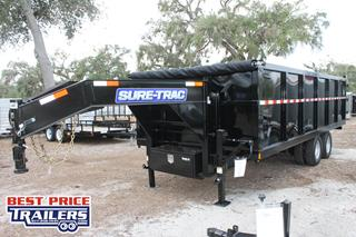 Dump Trailer with Gooseneck