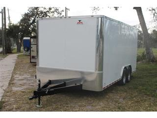 Cargo Trailer with Ramp Door