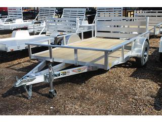Utility Trailer with Bi Fold Gate