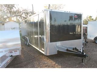 Car Hauler with Rear Ramp Door