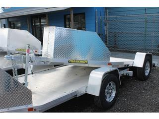 Trike Trailer with Aluminum Rock Guard