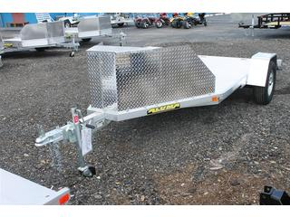 Trike Trailer with Rock Guard