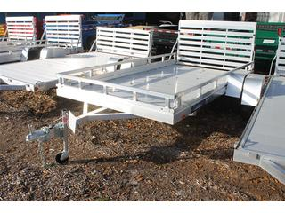 Utility Trailer with Rails