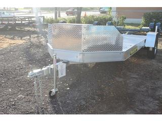 Utility Trailer with Rock Guard