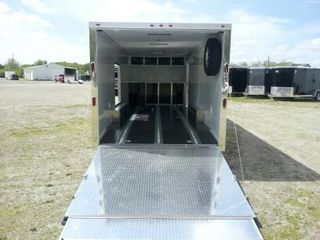 2012 ATC / Motiv Enclosed Steel T/A Car Hauler