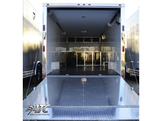 2012 Motiv RSX Enclosed T/A Carhauler Trailer