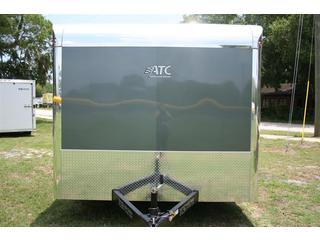 2012 Motiv RSX Enclosed Steel T/A Carhauler Trailer