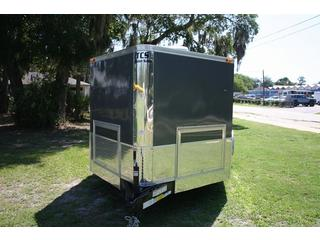 2012 Cargo Mate Motorcycle Trailer