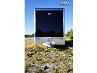 2012 ATC Enclosed Aluminum T/A Carhauler Trailer