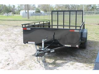 Utility Trailer with High Sides